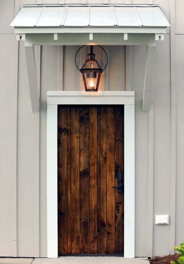Lovely Door Overhang Designs (6)