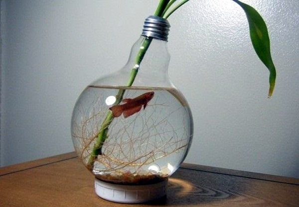 Original Light Bulb Aquarium Decor Ideas (16)