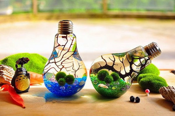 Original Light Bulb Aquarium Decor Ideas (3)
