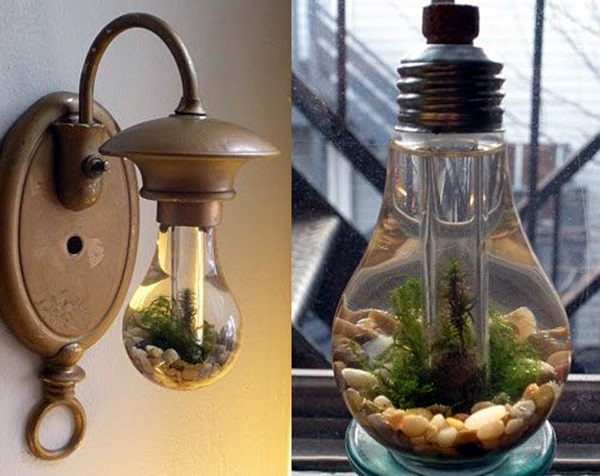 Original Light Bulb Aquarium Decor Ideas (32)