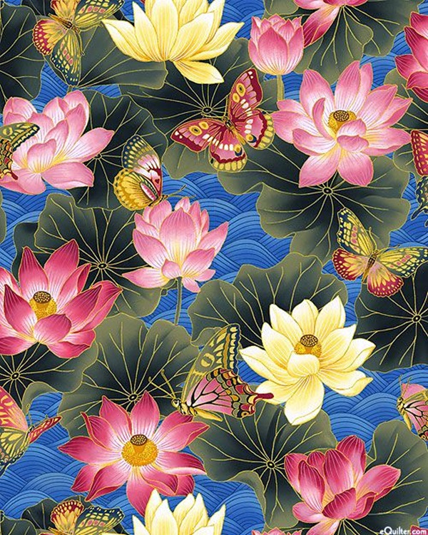 Peaceful Lotus Flower Painting Ideas (12)