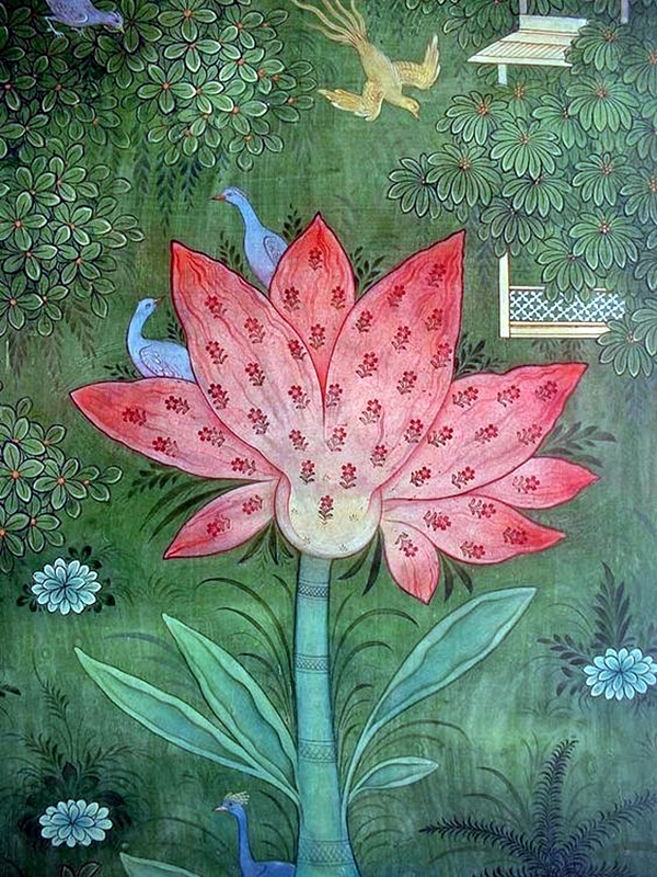 Peaceful Lotus Flower Painting Ideas (14)