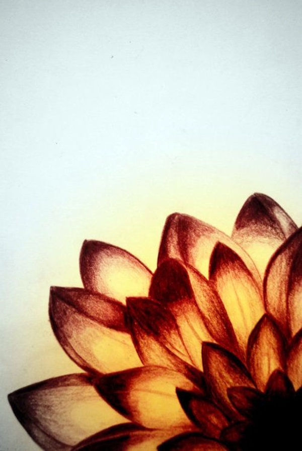 Peaceful Lotus Flower Painting Ideas (23)