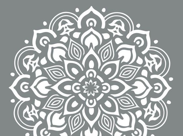 Printable stencil patterns for many uses
