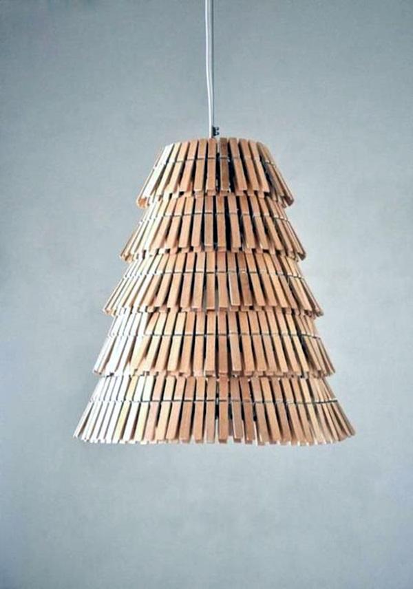 40 recycled lamps that are border line genius - Como hacer lamparas de techo artesanales ...