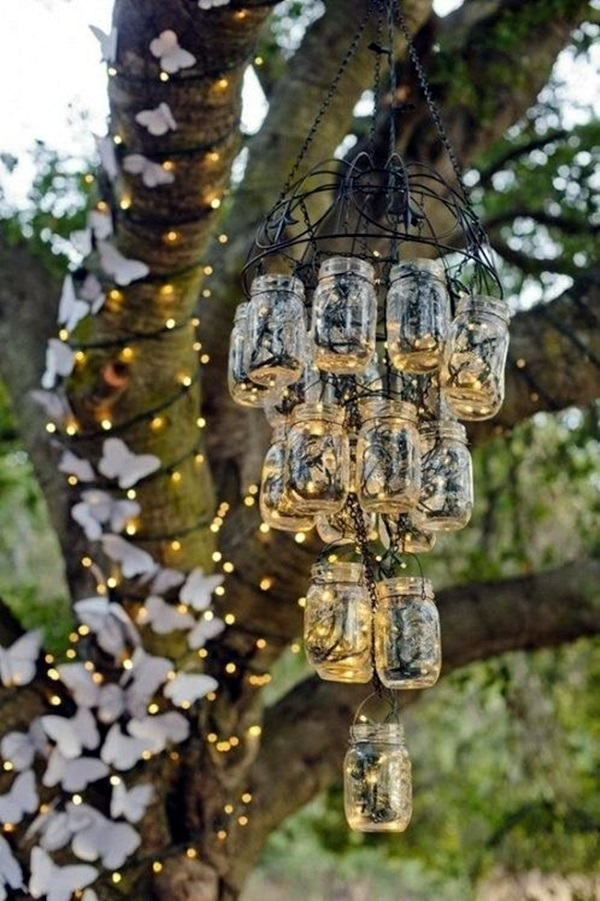 Stylish garden chandelier Ideas (3)
