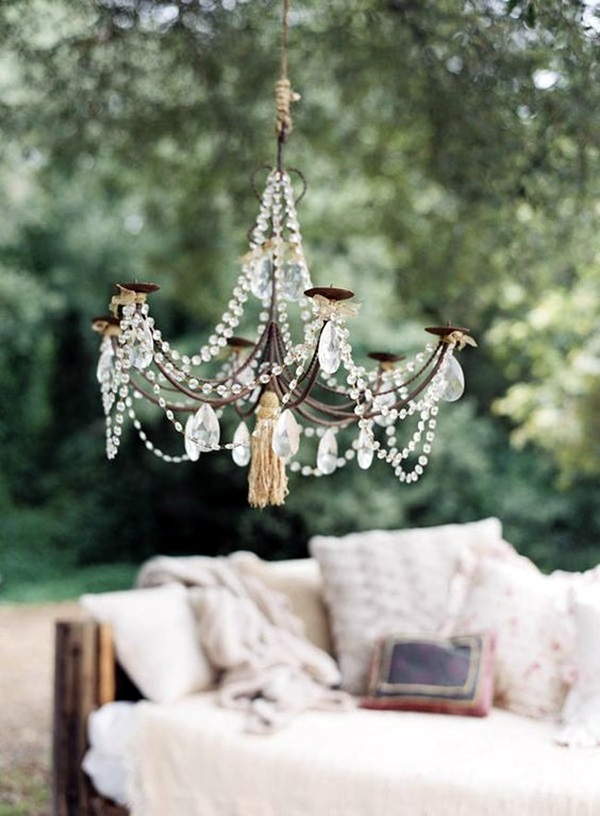 Stylish garden chandelier Ideas (4)