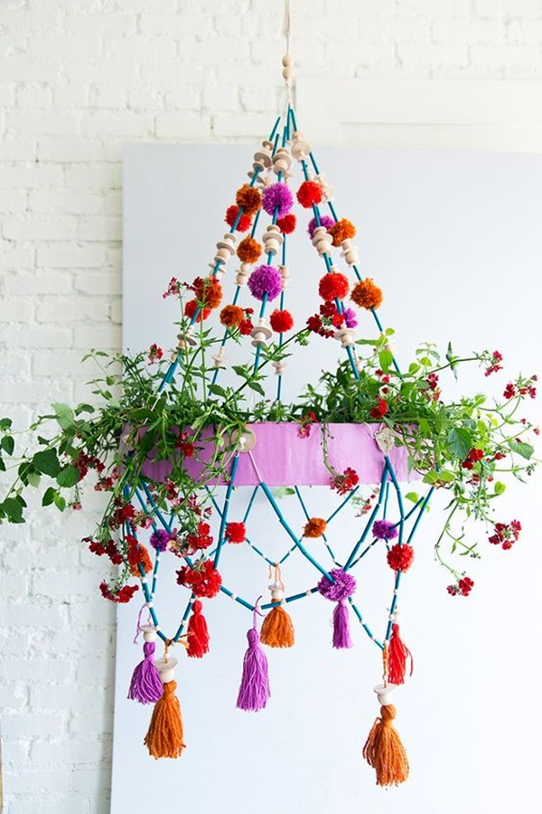 Stylish garden chandelier Ideas (5)