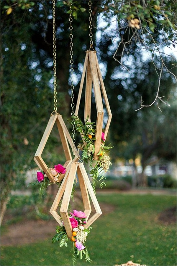 Stylish garden chandelier Ideas (6)