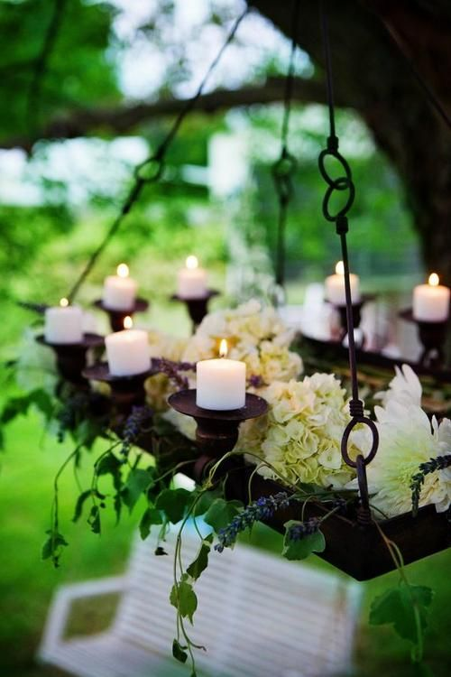 Stylish garden chandelier Ideas (7)