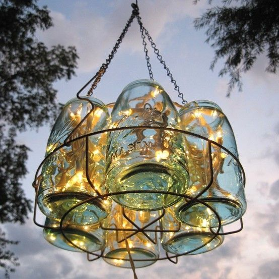 Stylish garden chandelier Ideas (8)
