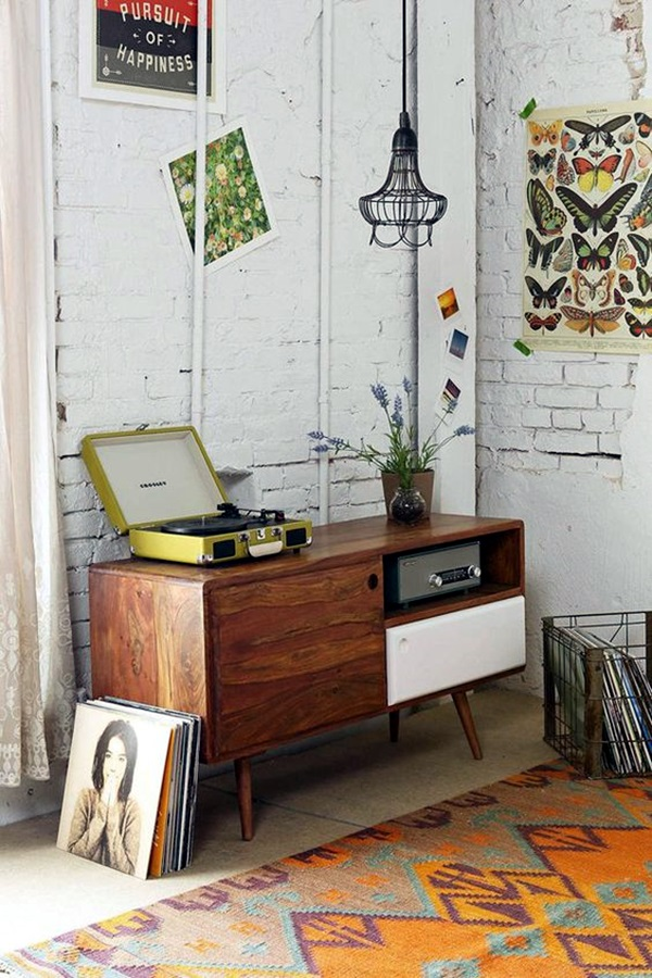 Unplugged eclectic decoration Ideas (30)
