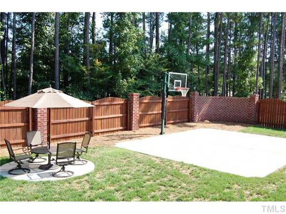 Backyard basketball court ideas to help your family become for Diy home design ideas landscape backyard