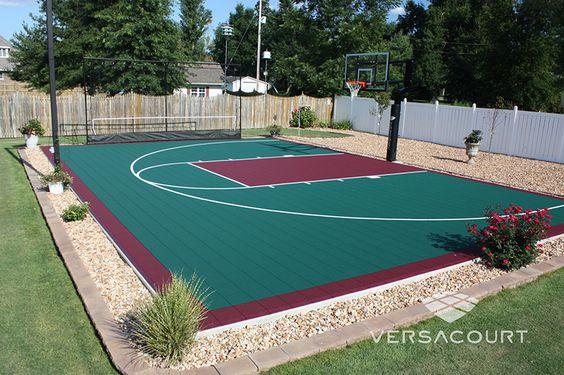 backyard basketball court ideas 2