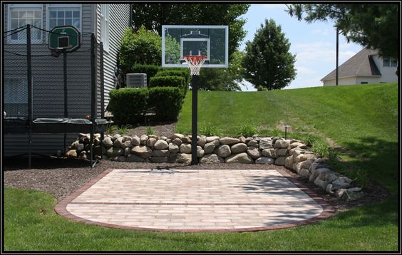 Backyard Basketball Court Ideas 3