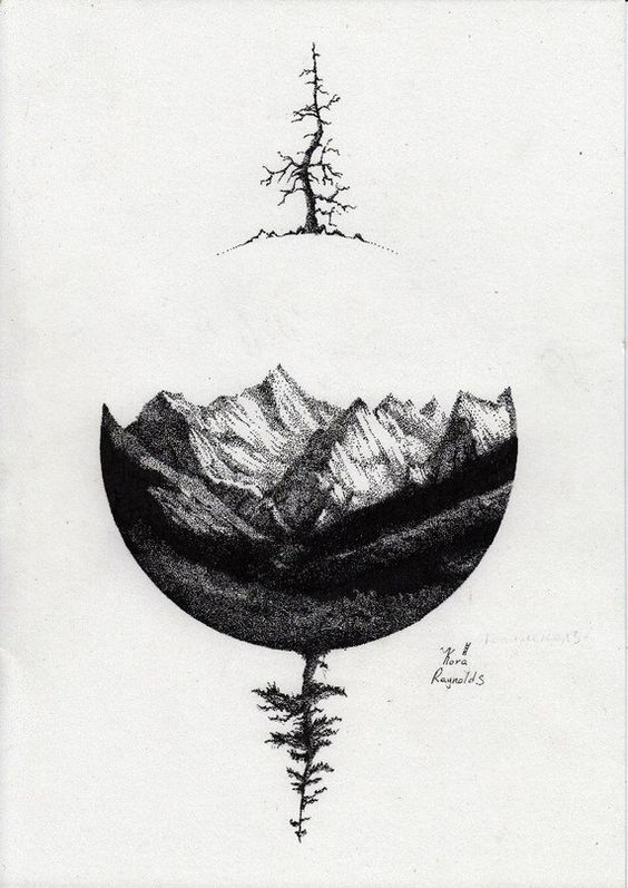 black ink drawings 17