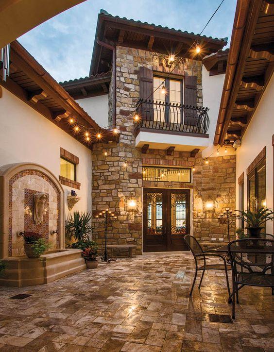 cobblestone patio designs 2