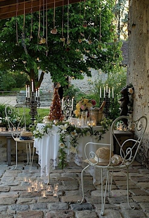cobblestone patio designs 20