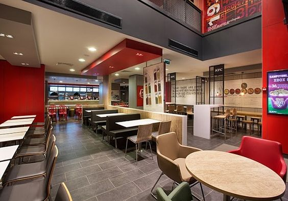 Fast food restaurant design ideas