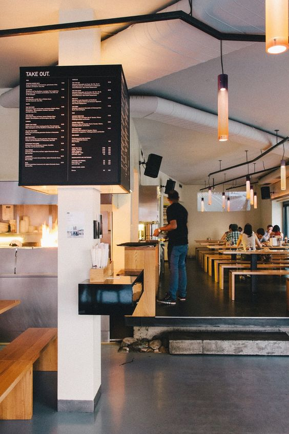 fastfood restaurant interiors 13