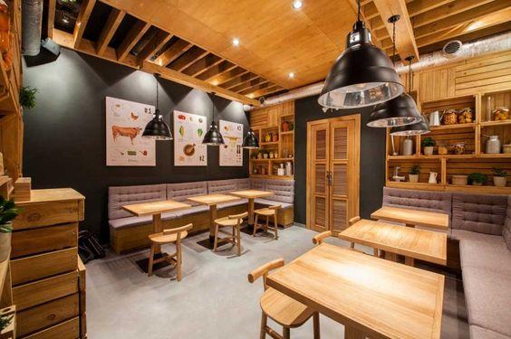 fastfood restaurant interiors 19