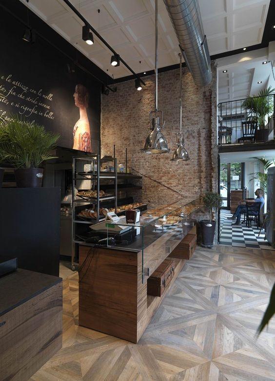 fastfood restaurant interiors 22