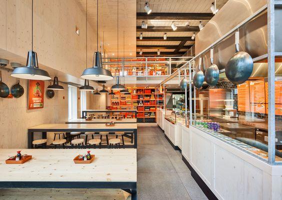 fastfood restaurant interiors 23