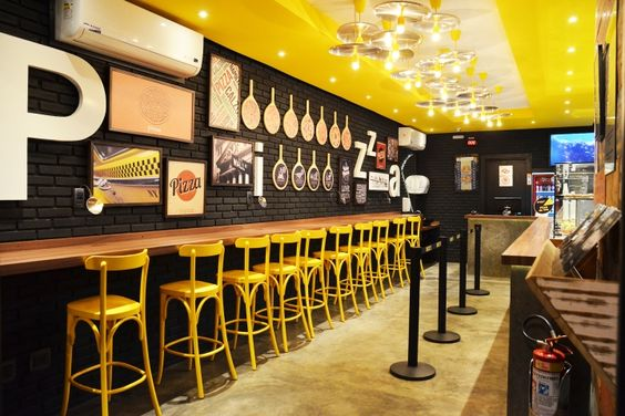 Fast food restaurant interior design ideas that you should