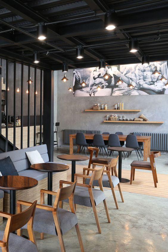 fastfood restaurant interiors 35