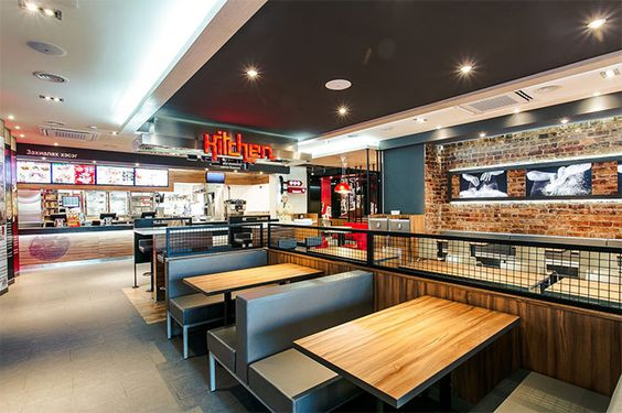 Fast food restaurant interior design ideas that you should for Fast food restaurants open on easter