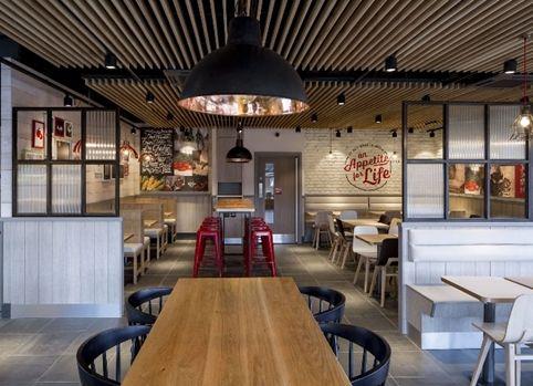 fastfood restaurant interiors 5