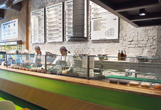 Fast food restaurants interior design - photo#18