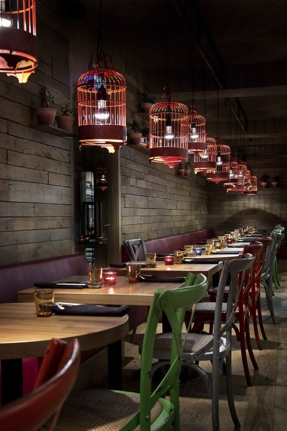 fastfood restaurant interiors 8