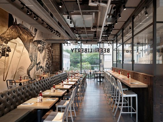 fastfood restaurant interiors 9