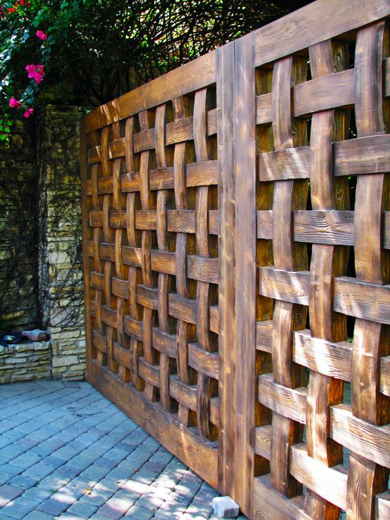 Fantastic and fancy fence design ideas bored art fence design ideas 24 workwithnaturefo