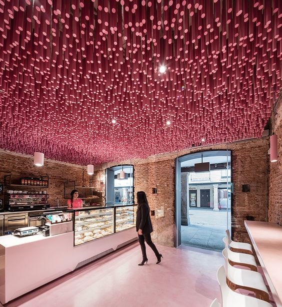 About Interior Design: Pretty And Perfect Pastry Shop Interiors