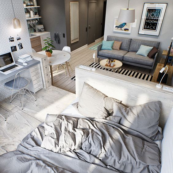 studio apartment interiors 23