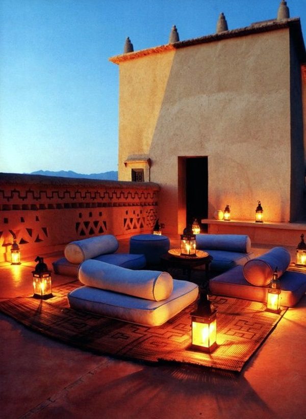 40 Terrace Light Decoration Ideas