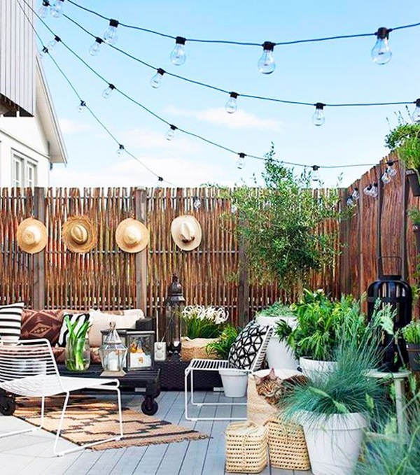 Terrace Light Decoration Ideas 17