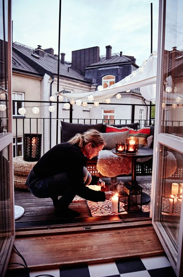 terrace light Decoration Ideas (29)