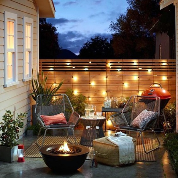 terrace light Decoration Ideas (3) & 40 Terrace Light Decoration Ideas - Bored Art