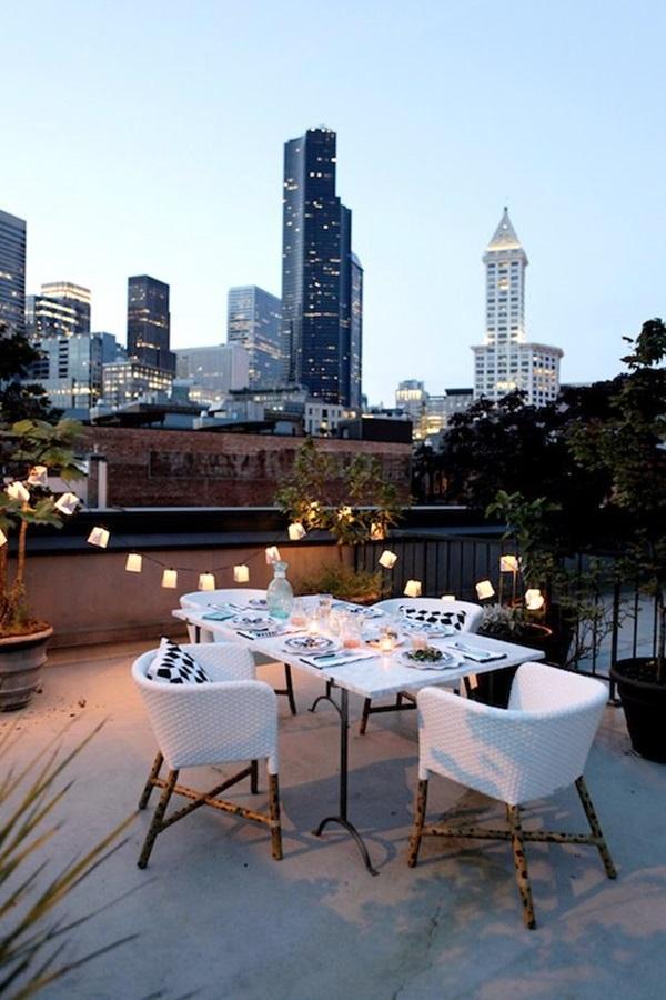 terrace light Decoration Ideas (39)