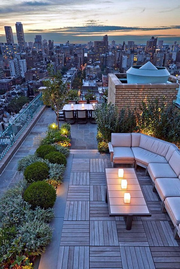 Terrace Light Decoration Ideas 41
