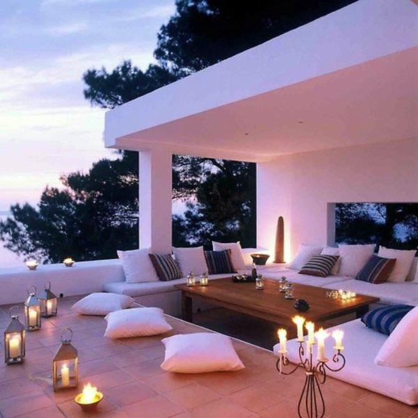 terrace light Decoration Ideas (42)