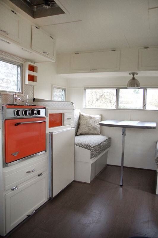Tantalizing trailer interior designs that are not at all for Interior caravan designs