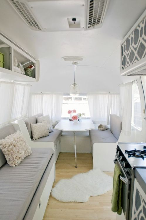 Tantalizing trailer interior designs that are not at all trashy bored art Diy caravan interior design ideas