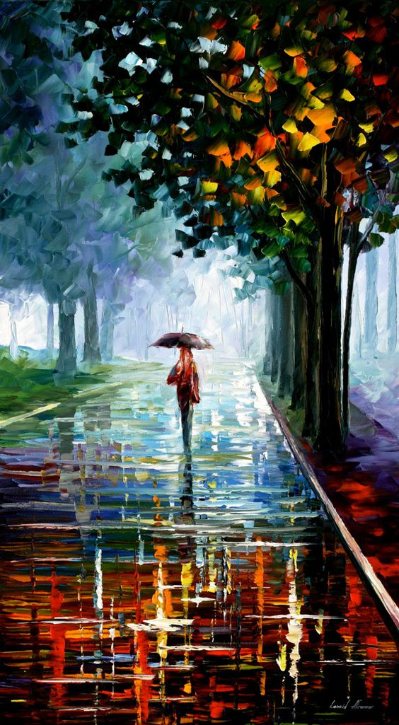 Unique And Utterly Captivating Umbrella Art To Drizzle You ...