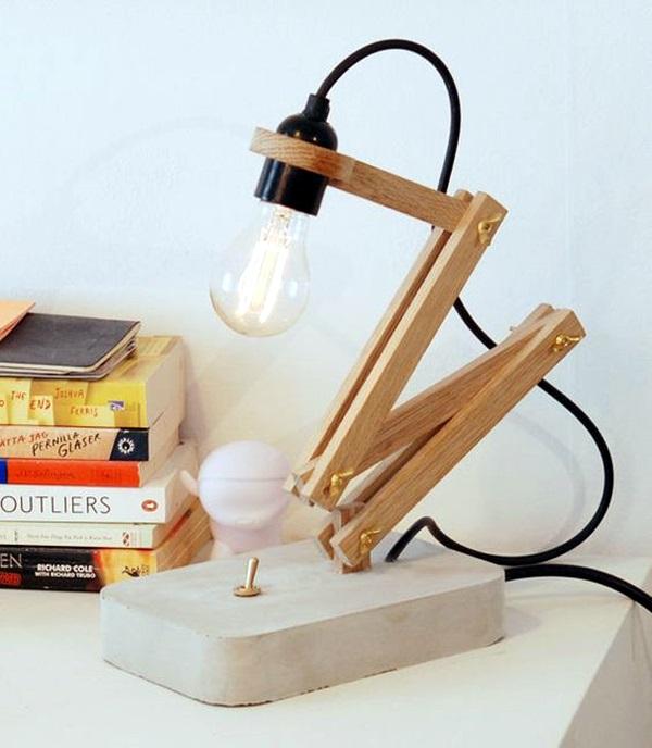 Beautiful Wooden Lamp Designs (@Home) (26)