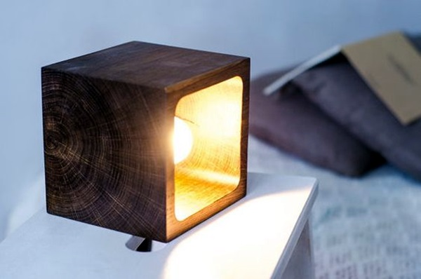 beautiful wooden lamp designs athome