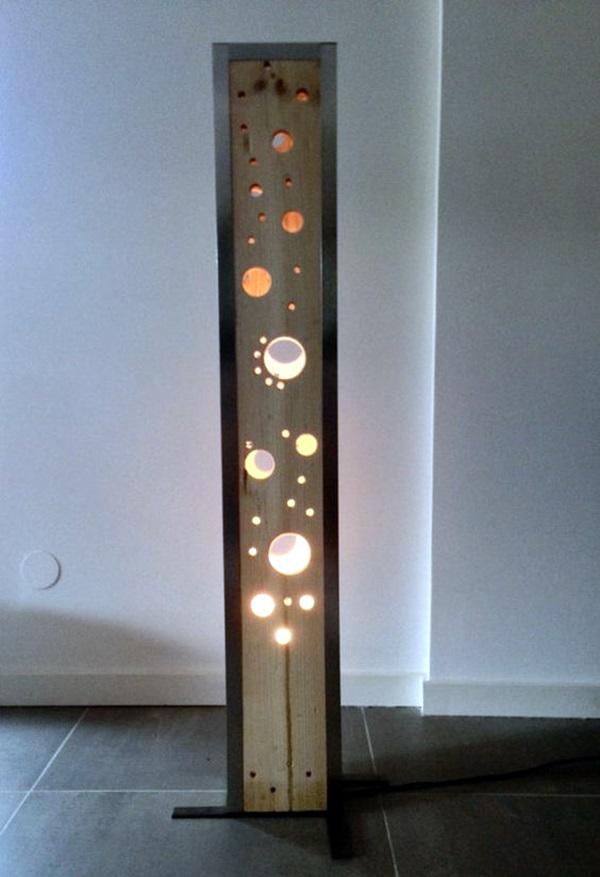 Beautiful Wooden Lamp Designs (@Home) (40)
